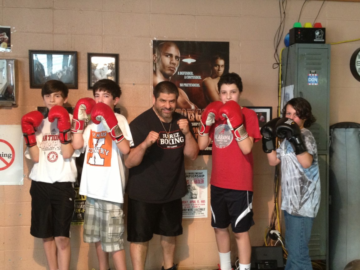 youth group boxing